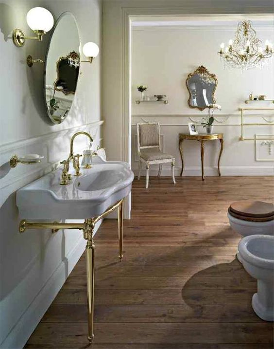 Traditionelles Badezimmer #armaturen #retrobad #nostalgie #faucets  #traditional #bathroom #badezimmer