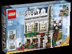 Nearly wet myself laughing when found Lego do a model of a Parisien resto.