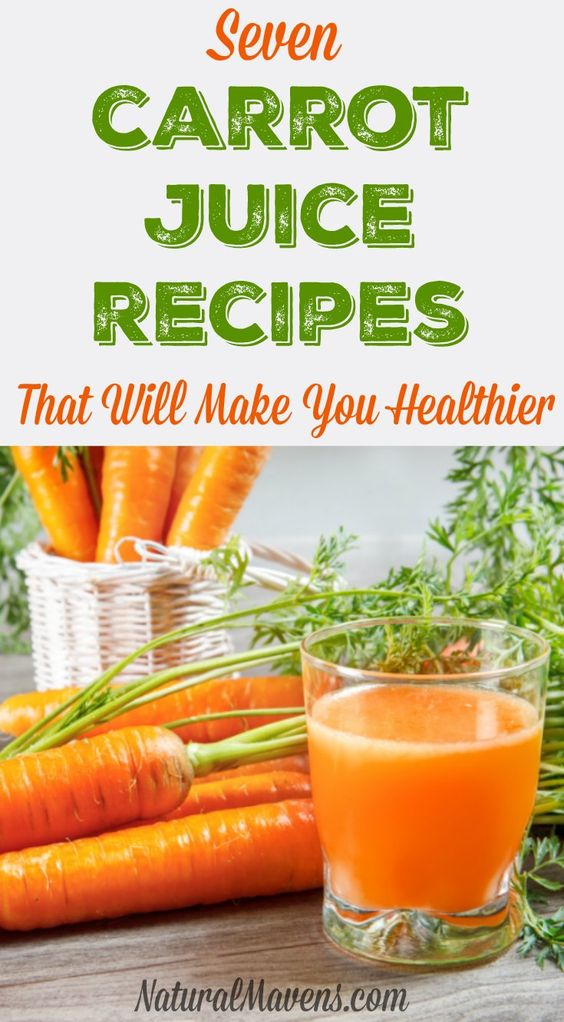 7 carrot juice recipes that are healthy and taste amazing. http://juicerblendercenter.com/category/juicer-and-blender-information