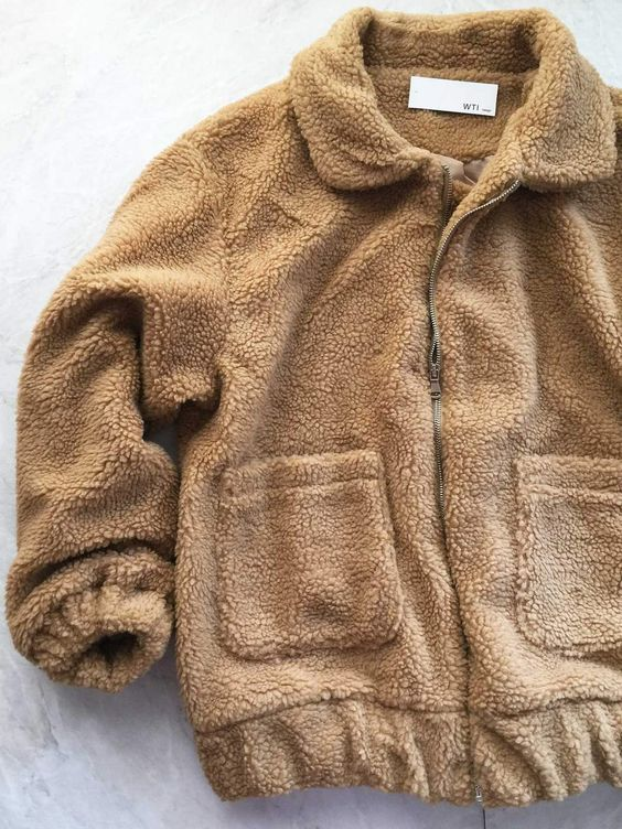 Oversize Faux Fur Fuzzy Jacket - worthtryit.com