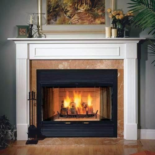36 Sovereign Heat Circulating Woodburning Fireplace Majestic