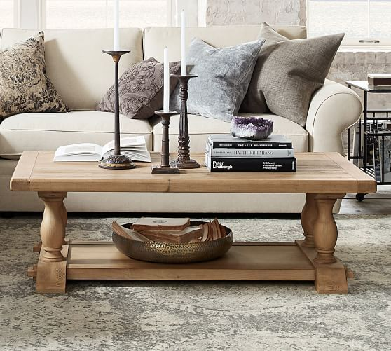 Parkmore Reclaimed Wood Coffee Table Coffee Table Wood Coffee Table Pottery Barn Coffee Table
