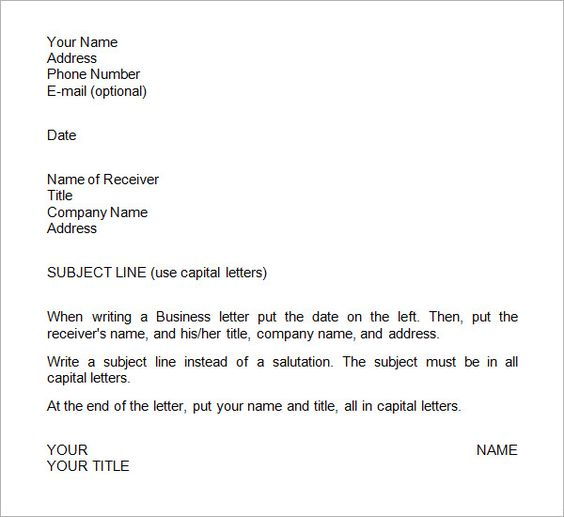 sample business letter format templates free download the best - funny fax cover sheet