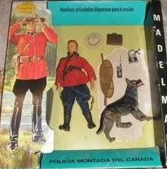 Madelman Policia montada del Canada