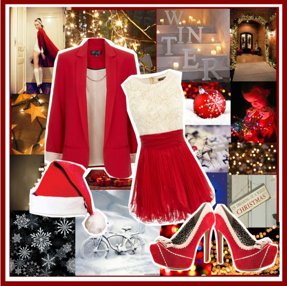 """Merry Christmas :)"" by daily-insanity ❤ liked on Polyvore"