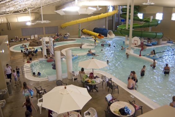Enjoy Waterslides  Water Playground  Lily Pad Walk And