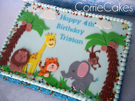 Corrie Cakes Jungle Animals