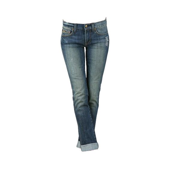Work Custom Jeans found on Polyvore