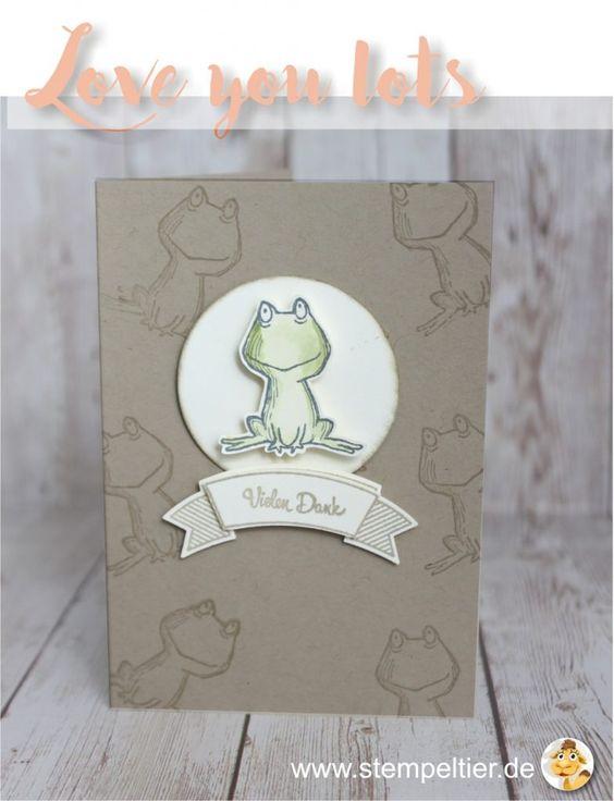 stampin up 2017 preview sneak peek love you lots gastgeberin hostess stempeltier frosch frog