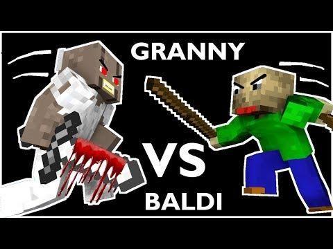 Monster School Baldi S Basics Vs Granny Challenge Part 4