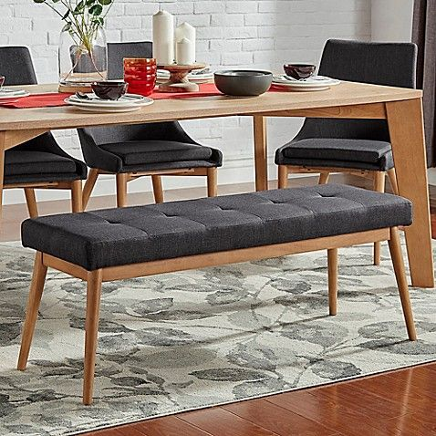 Versatile And Stylish The Hudson Mid Century Bench From Verona
