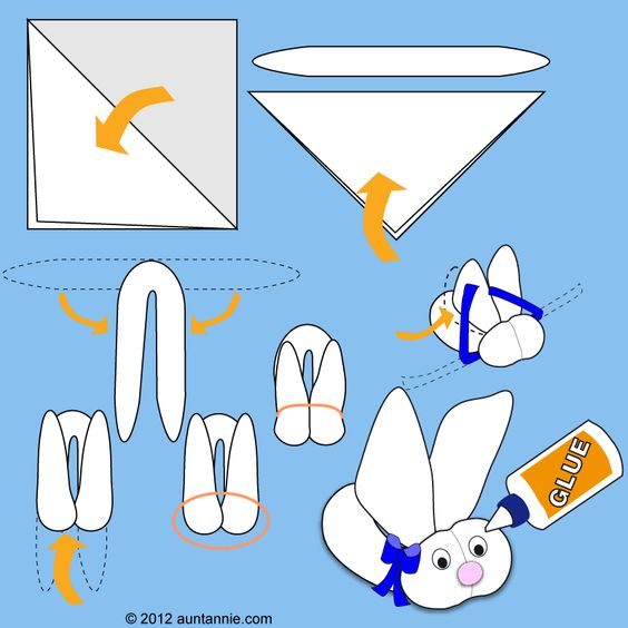 I've made these for Kristin & Ryan when they were small but they were for boo-boo's.  You put a piece of ice in the fold of the body and place it on the affected area.  How to make Washcloth Bunny