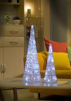 #kerstdecoratie - Staande lichtdecoratie