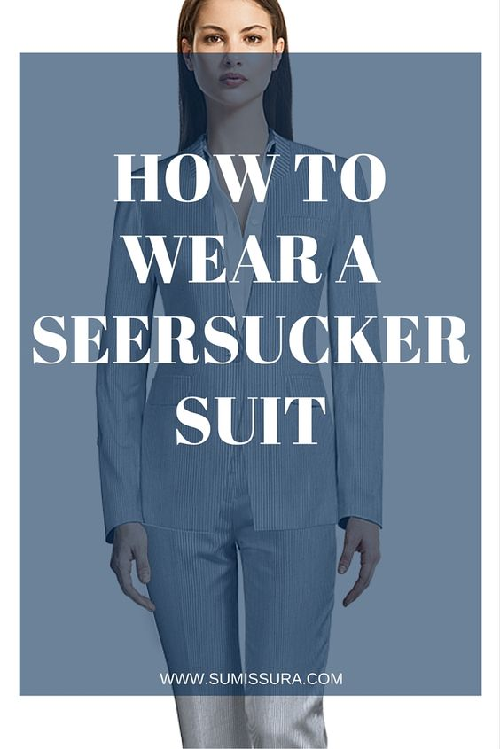There are many opinions regarding Seersucker suits; some think it's not flattering, which sure, this can be true if you wear the wrong Seersucker suit. We're here to show you how to avoid these problems when wearing the right one.
