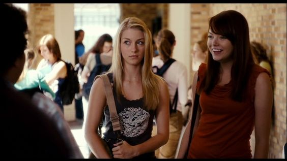 "Emma Stone as Jules and Laura Seay as Shirley in ""Superbad"""