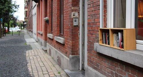 Boîte à livres Mons 5