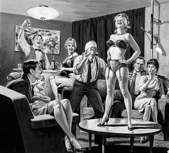 Meeting swinging women