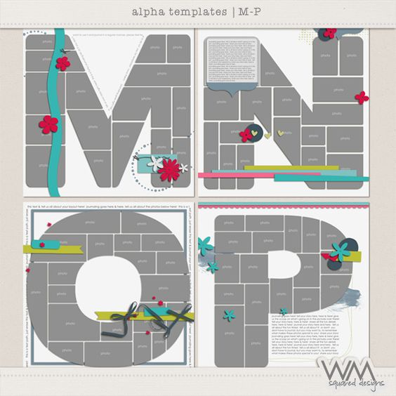 Alpha Templates - M-P