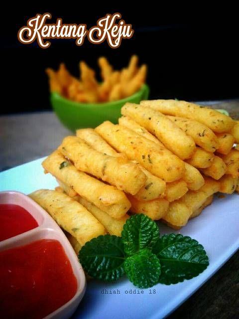 Resep Stik Keju Cheese Stick Mudah Renyah Anti Gagal Oleh Tya Kitchen Resep Resep Makanan Ringan Gurih Keju
