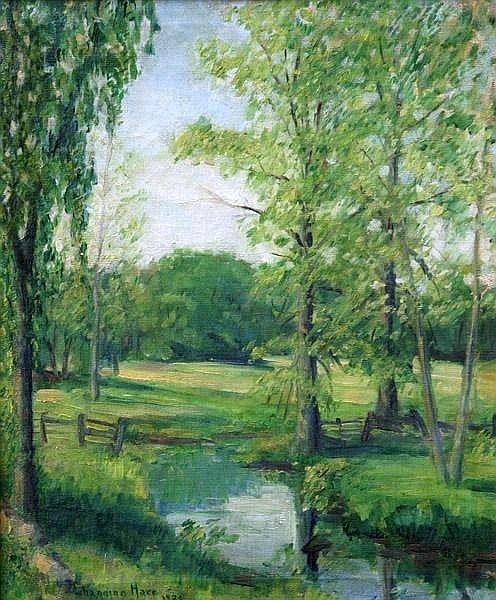 Forest Landscape -Channing Hare (1899 – 1976)