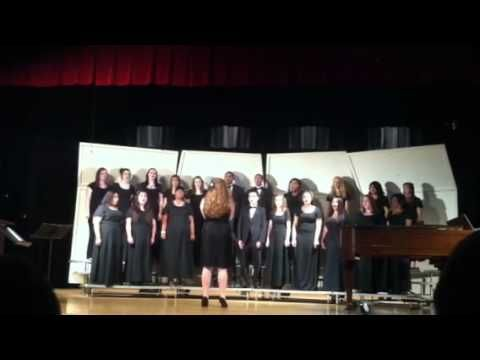 CAROL OF THE STAR (arr. by Donald Moore)  sung by the Hibriten H.S. Advanced Chorus