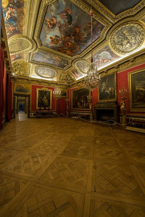 Salon de Mars, Château de Versailles - © EPV / Thomas Garnier - European Night of Museums: