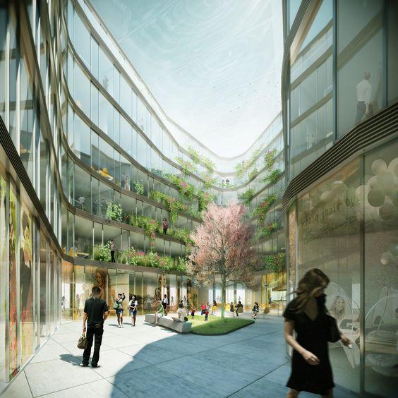 Gürzenich-Quarter Cologne kadawittfeldarchitektur 2010 #office #shopping http://rdt.ac/e459