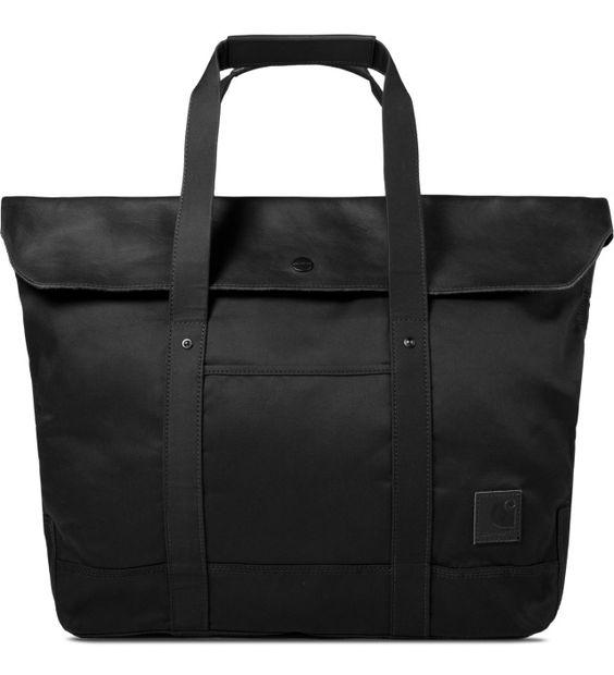 Carhartt WORK IN PROGRESS Twill Black Philips Tote Bag   HYPEBEAST Store. Shop Online for Men's Fashion, Streetwear, Sneakers, Accessories