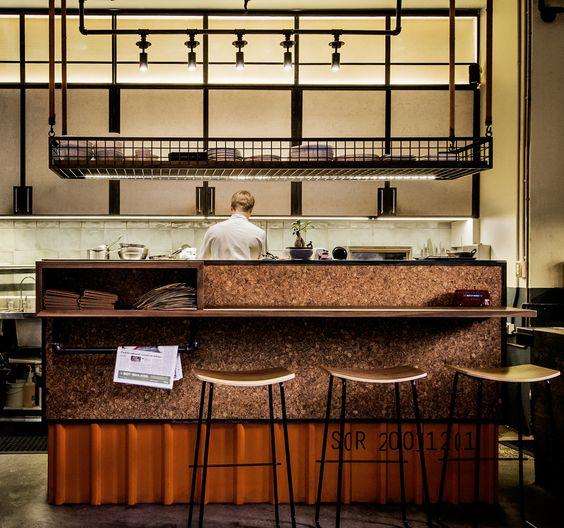 Single origin roasters by luchetti krelle cafe surry hills - Etagere suspendu au plafond ...