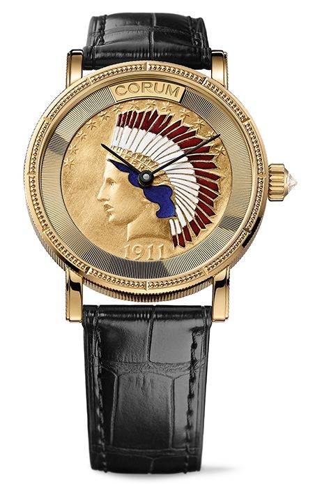 Corum Coin Heritage Indian Head Ref. C082/02355