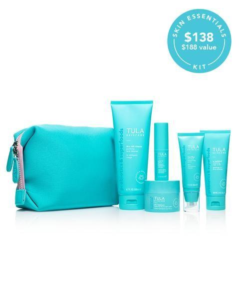 Skincare Essentials Routine Kit Skin Care Essentials Tula Skincare Skin Care