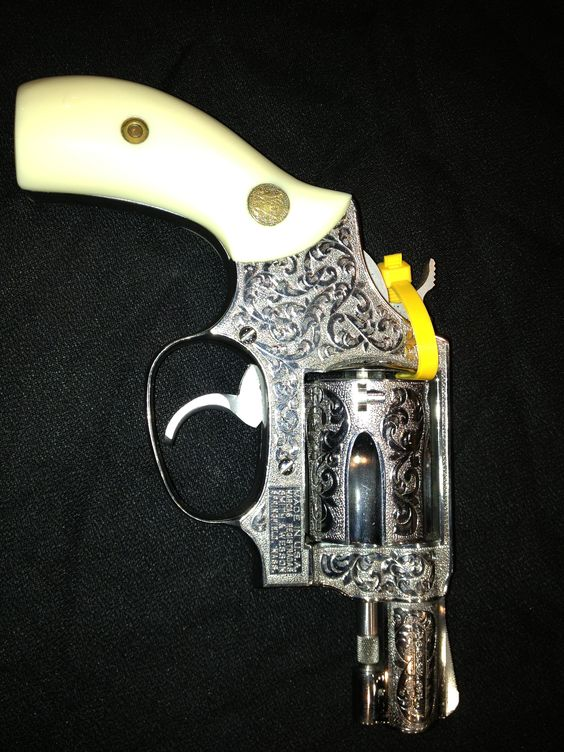 38 Special .. Smith& Wesson.. Fully engraved.. Purchased today in Birmingham, Al.