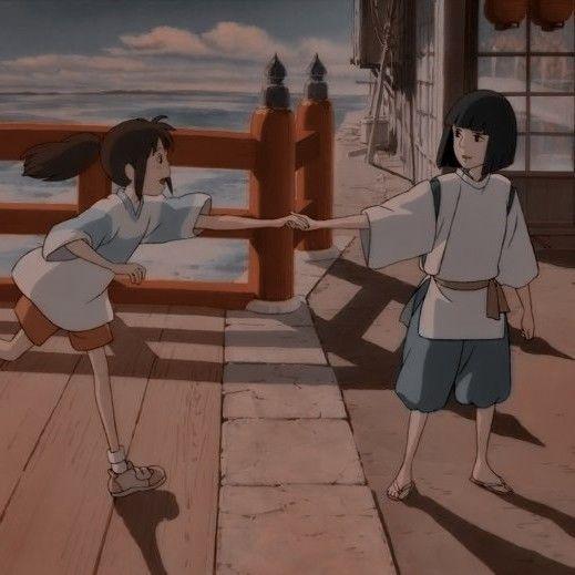 Anime Wallpaper HD: Blue Anime Aesthetic Studio Ghibli