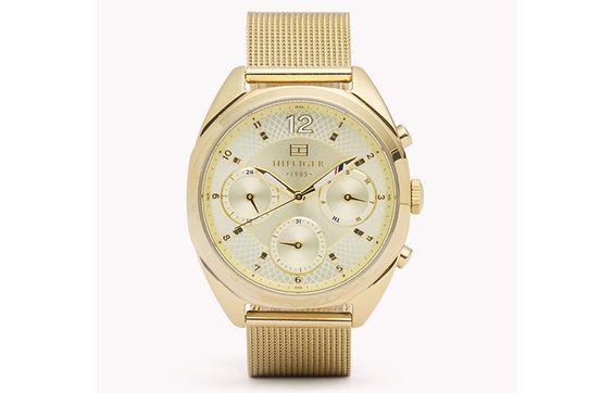 12.-Gold-Mesh-Strap-Watch
