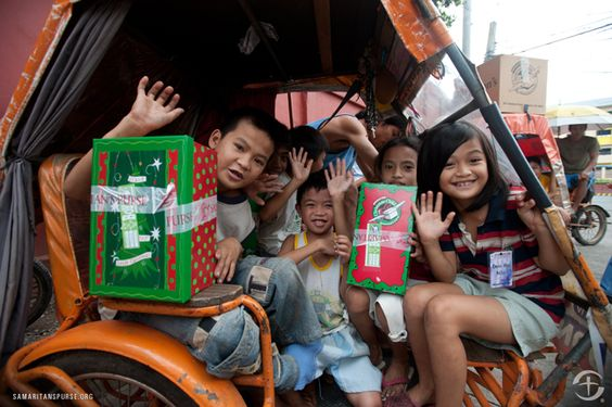 Operation Christmas Child in the Philippines.