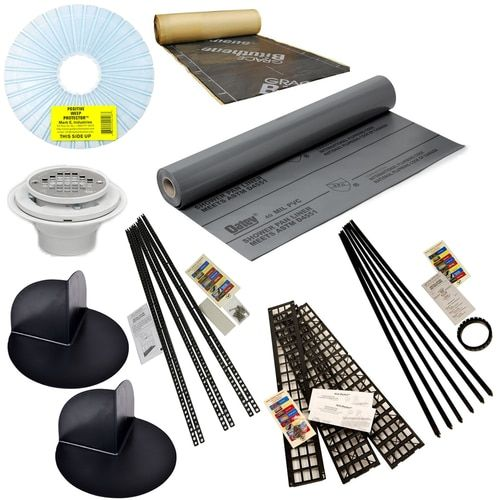 40 Mil Pvc Shower Kit With Kirb Perfect Shower Kits Shower Pan