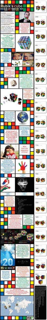 Solving the rubrics cube is on my bucket list. I carried one around for like 6 months and just couldn't do it! Ugh! I was so happy to throw that thing away!