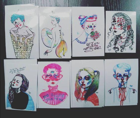 "Stickers !!!  11/28-nii 12 - 18 tsagiin hoorond zohiogdoh ""HolioSolio"" event deer delgene / 3000 1000/ (Bayangol restaurantnii hajuud Casablanca restaurant dotor) . . . . . . . #illustration#drawing#sketching#onesketchaday#instadrawing#artstagram#awesomeartist#instaartist#artist_4_shoutout#instaart#magicgallery#artistoninstagram#artoninstagram#darkart#brokenhearted#talentedpeopleinc#illustrationfridayartblog#sketchaday#drawaday#ilustración#그림#sticker by nymka.lkh"