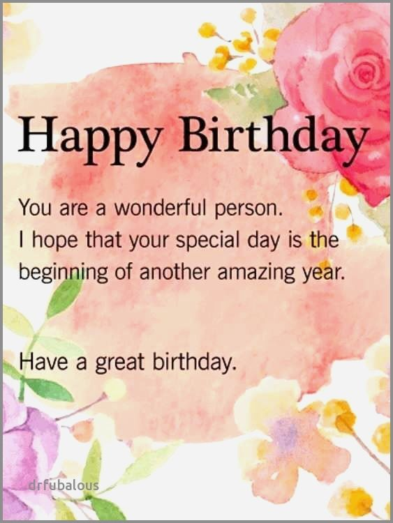 50 Best Of Happy Birthday Wishes Special Person With Images