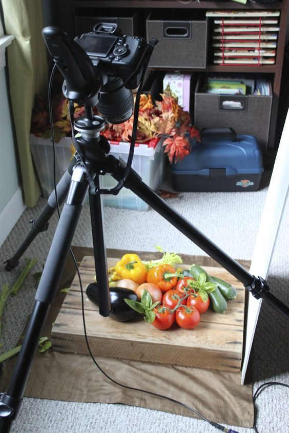 Food Photography & Styling Day 2 and Ratatouille (Deconstructed)