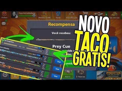 Corraa Novo Taco De Graca No 8 Ball Pool Prey Cue Duration 0