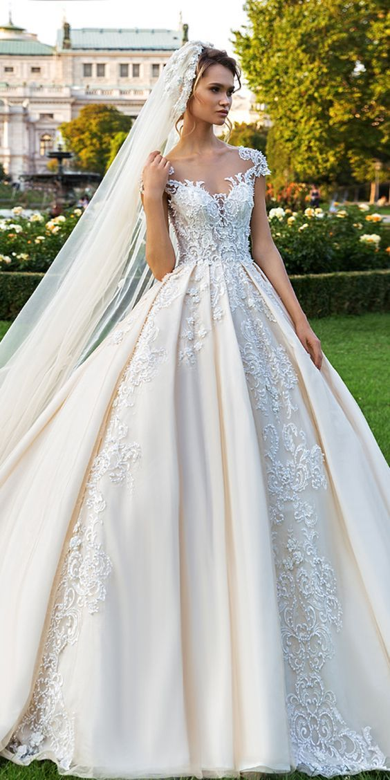 Top 100 Wedding Dresses 2019 From Top Designers Ball Gown Wedding Dress Wedding Dresses Lace Ball Gowns Wedding