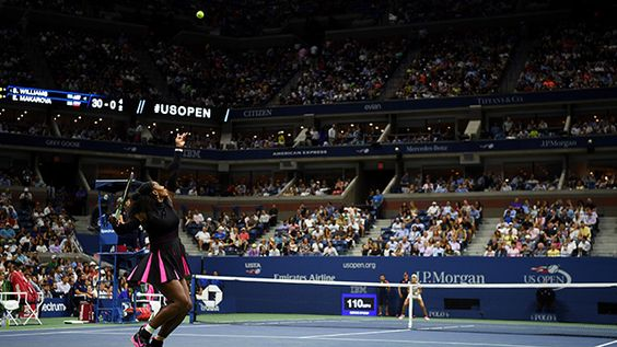 They packed the stands to see World No.1 Serena Williams begin her 2016 US Open…