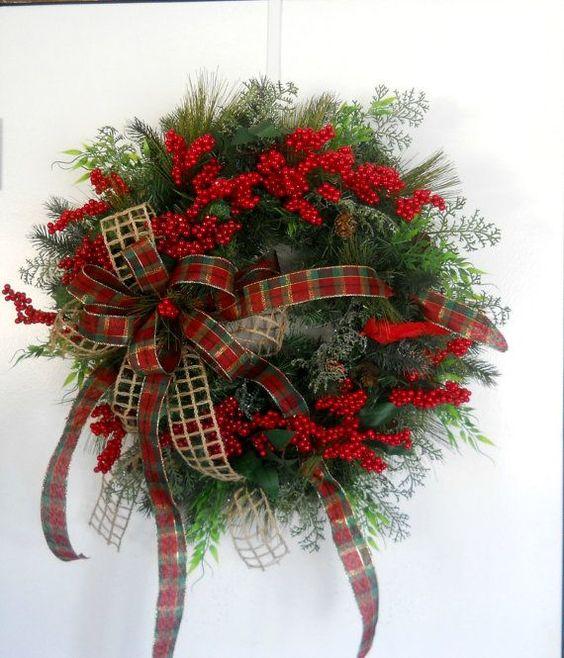 Christmas decorations in uganda : Christmas door wreaths my website and front doors on