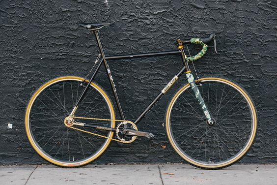 Beautiful Bicycle: Ty's Death Spray Custom All City Nature Boy SSCX