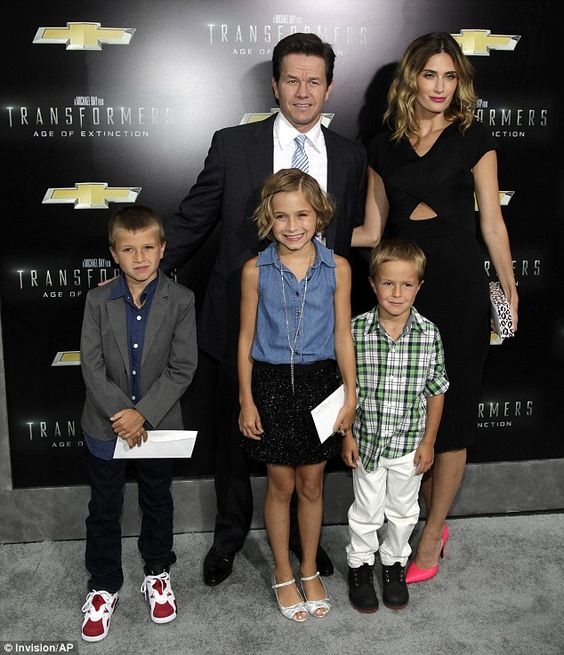 Mark Wahlberg brought his family along to the Transformers premiere in New York http://dailym.ai/1yRcHP8