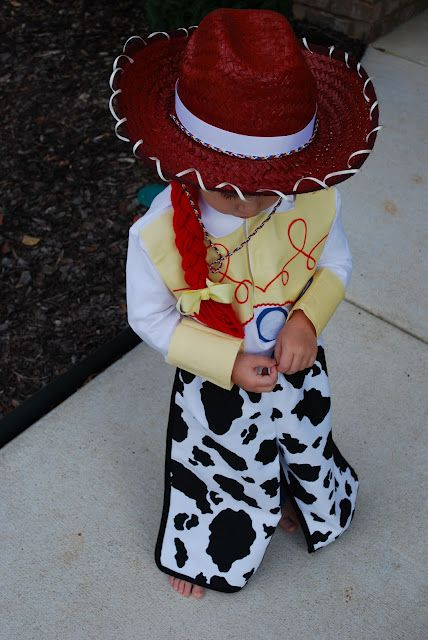 Fussy Monkey Business: Toy Story's Jessie Costume(edited)