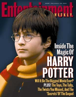 Harry Potter: Magic Lessons [Entertainment Weekly magazine - Nov 30, 2001]