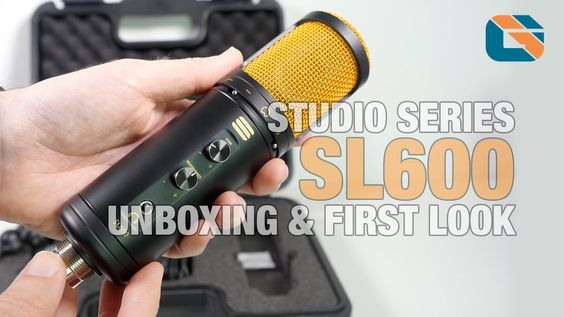 Editors Keys Studio Series SL600 USB Microphone Unboxing & First Look [ http://www.youtube.com/geekanoids ]