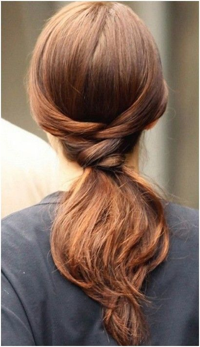 Easy Ponytail Hairstyles for Long Hair, Straight Hair Trends...soo..apparently not for me!haha